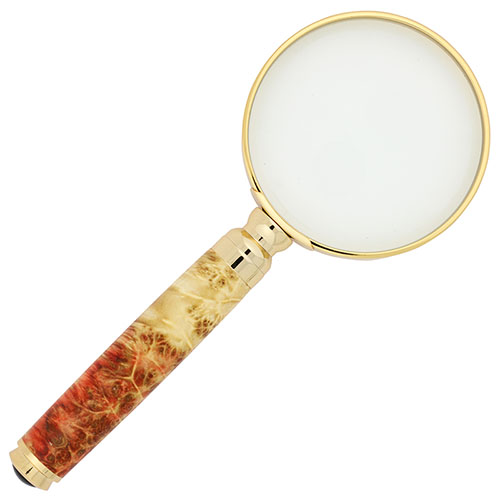 Capstone magnifying glass kit gold