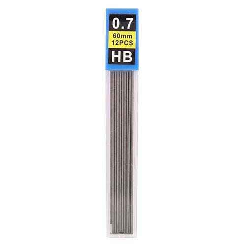 Pencil leads 0.7 mm - 12-pack