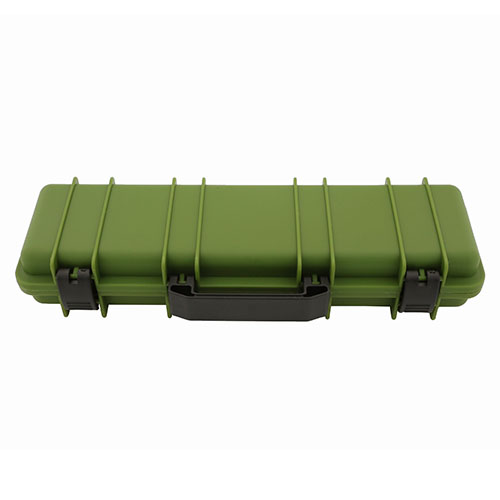 Tactical rifle case pen box green