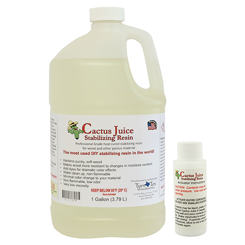Cactus Juice stabilizing resin gallon