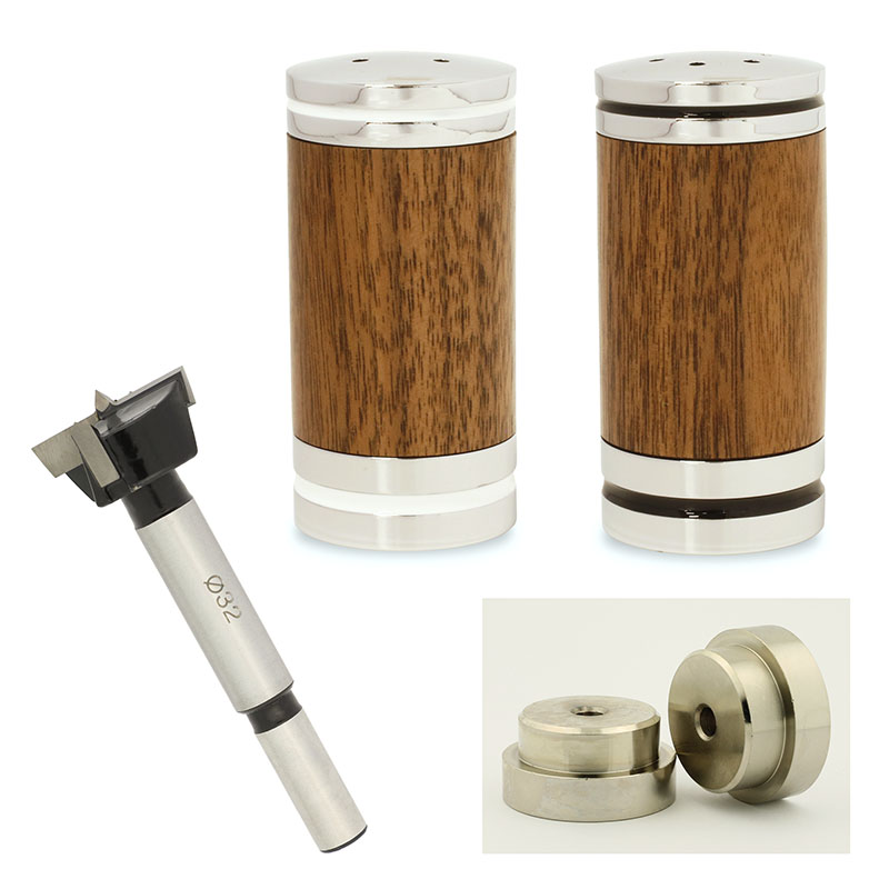 Deluxe salt & pepper shaker bundle