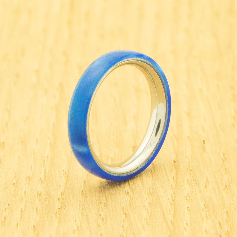 Lifestyle stainless steel one-piece ring core - 3 mm width