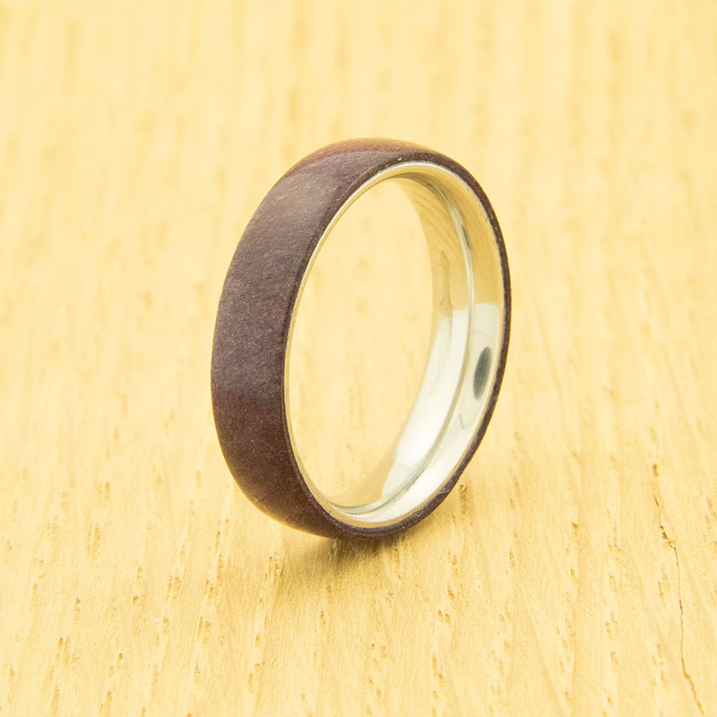 Lifestyle stainless steel one-piece ring core - 5 mm width