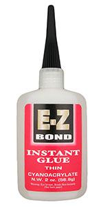 EZ-Bond CA glue thin - 2 oz