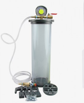 "4"" diameter 10"" long JuiceProof vacuum chamber"