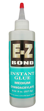 EZ-Bond CA glue medium - 8 oz