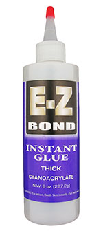EZ-Bond CA glue thick - 8 oz