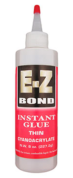 EZ-Bond CA glue thin - 8 oz