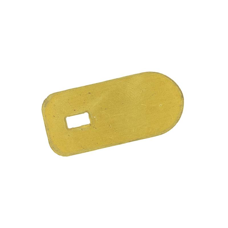 Brass guard for Sidewinder blade