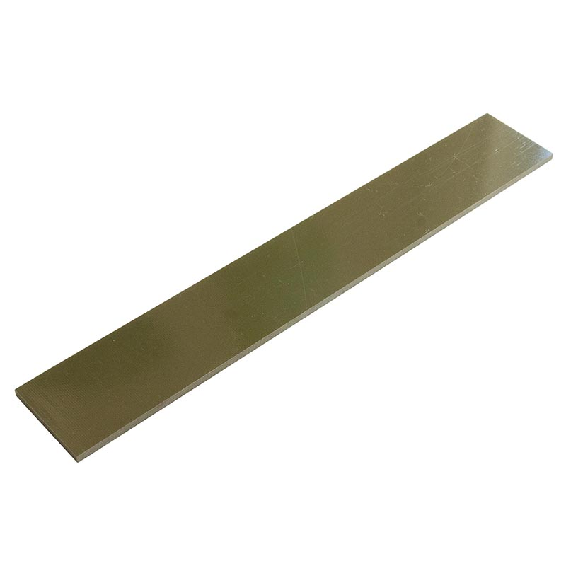 """Knife scales - G10 olive drab single ply 1/8 x 1-1/2 x 10"""""""
