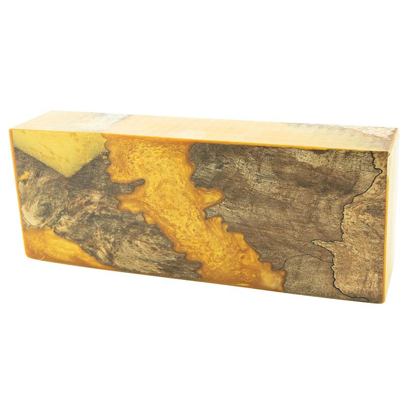 Fusion KNIFE BLOCK #5 - Golden Honey