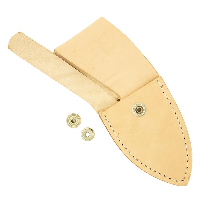 "Strap-style leather knife sheath 3.25"" x 1.88"""