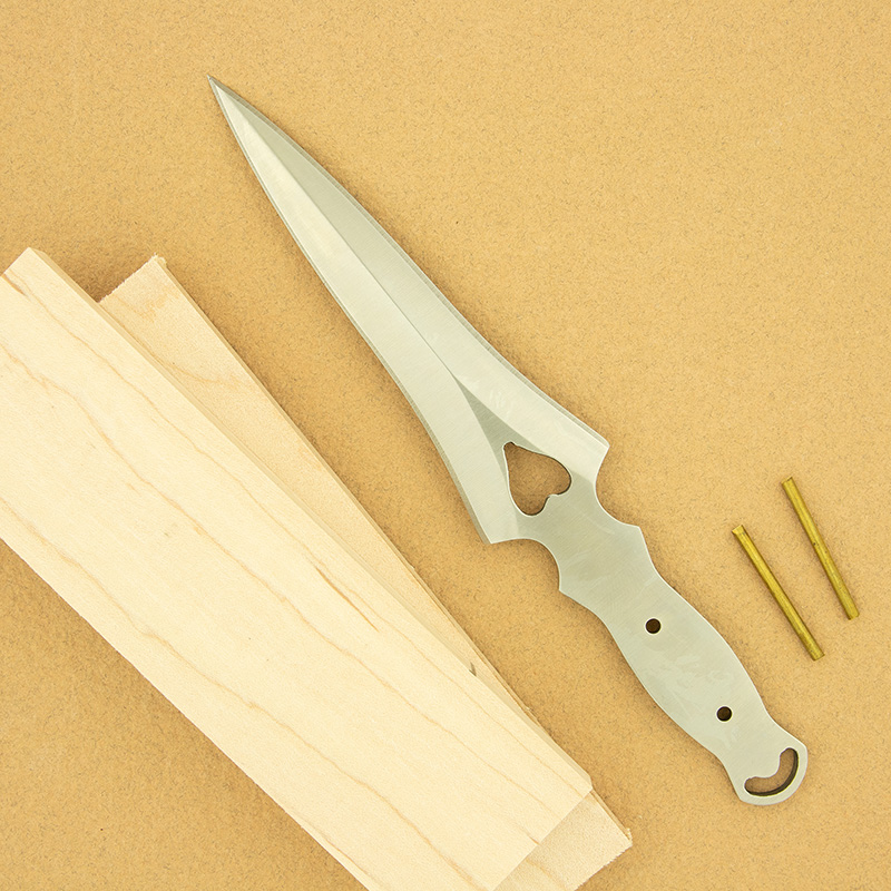 Renaissance dagger knife kit