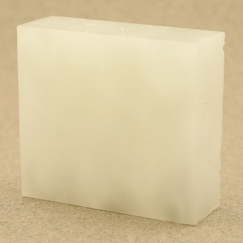 Acrylic ring blank - White Pearl