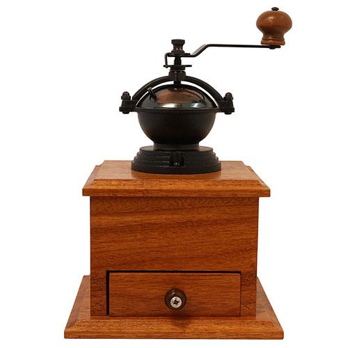 Antique copper coffee grinder V2