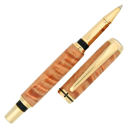 Baron rollerball pen kit gold