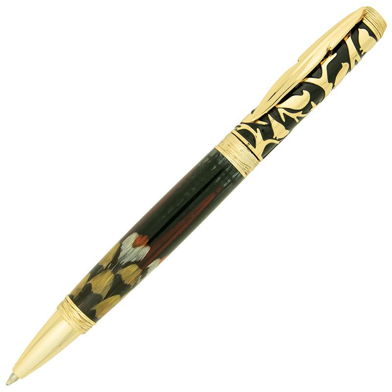 Bird pen kit gold