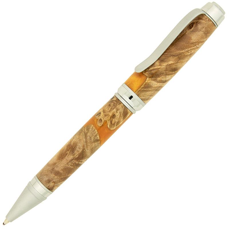 Budget Cigar pen kit two-tone chrome