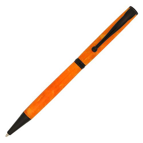 Budget Fancy Slimline pen kit black chrome