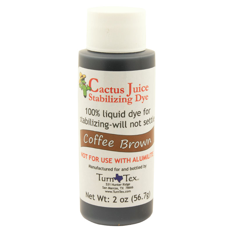 Cactus Juice dye coffee brown 2 oz