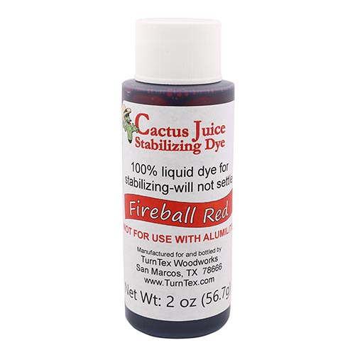 Cactus Juice dye fireball red 2 oz