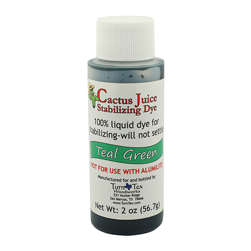 Cactus Juice dye teal green 2 oz