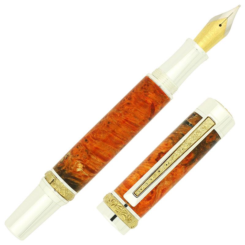 Canadiana fountain pen kit Style A