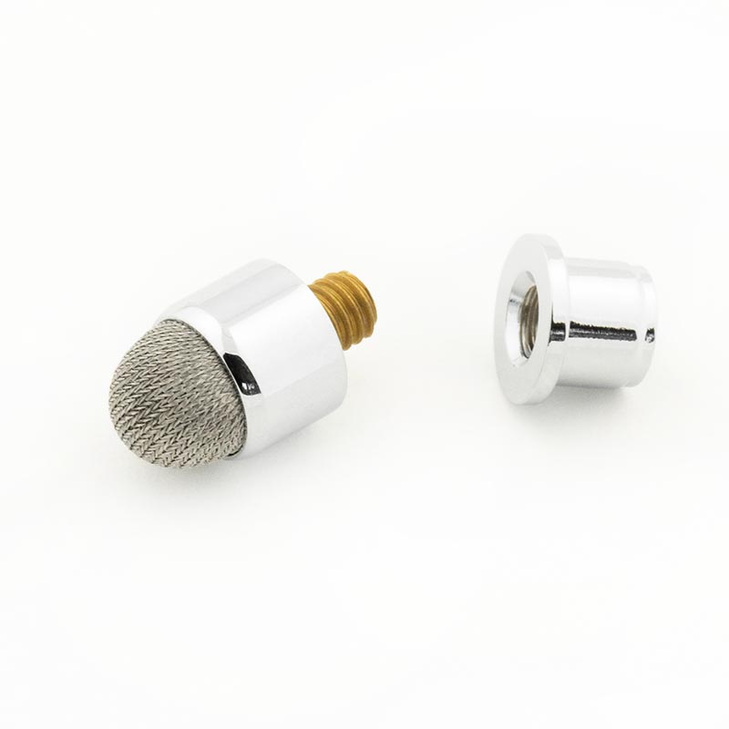 Fibre mesh stylus tip chrome
