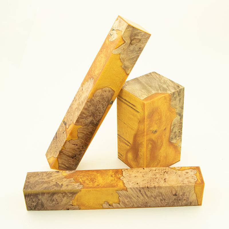 Shaving set Fusion blank BUNDLE - Yukon Gold