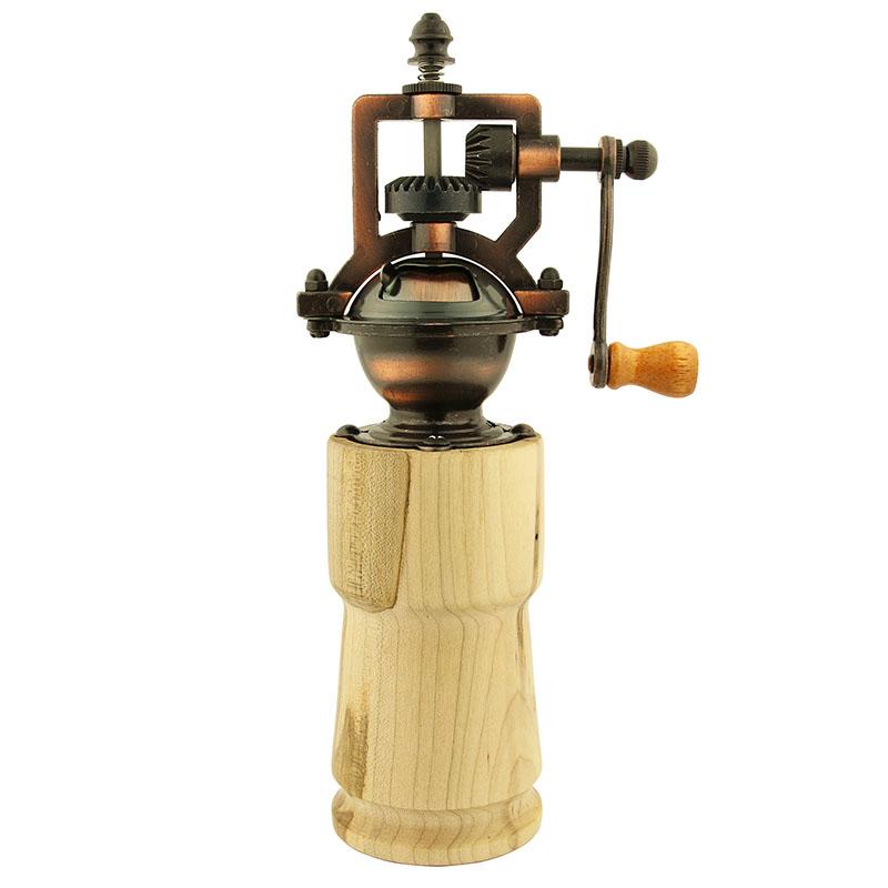 Heirloom pepper grinder mechanism - antique copper