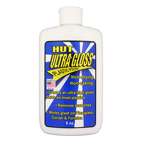 HUT ultra gloss plastic polish - 8 oz.