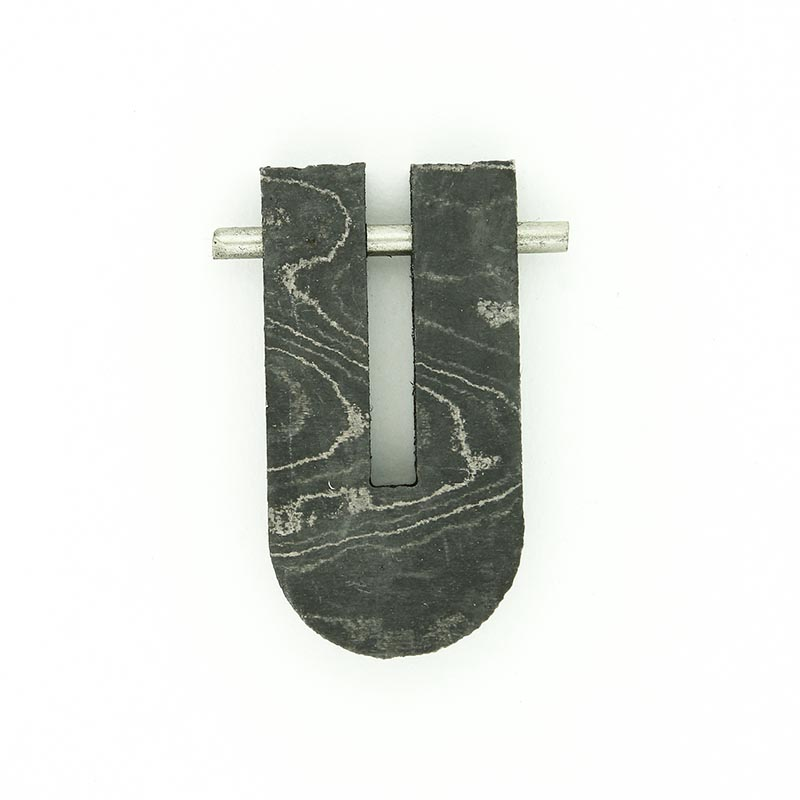 Slotted guard for Kenai River etched blade