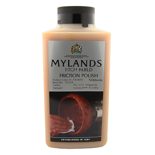 Mylands high-build friction polish
