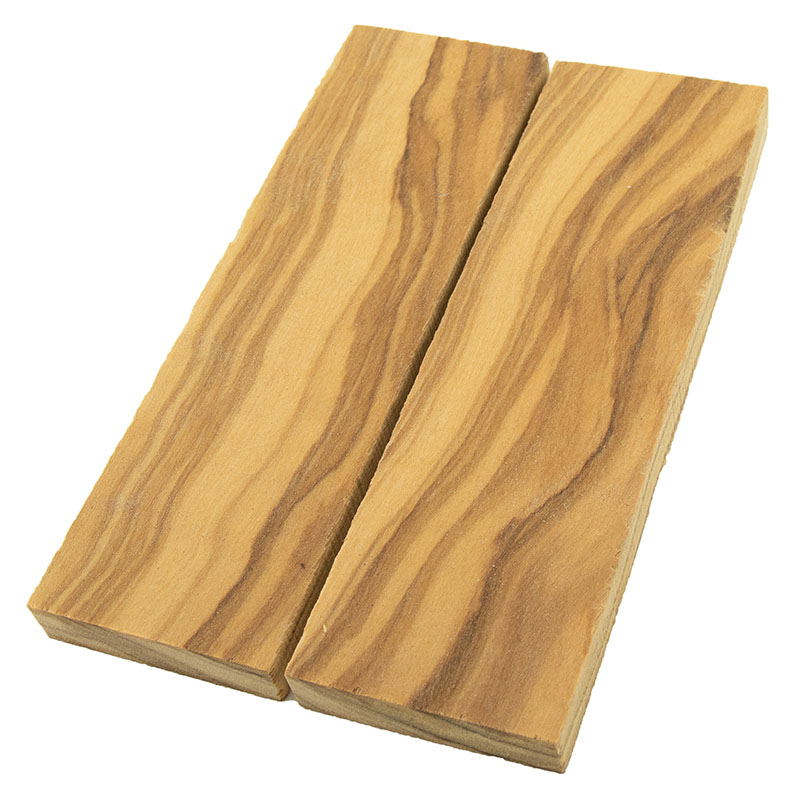 Knife scales - Olivewood