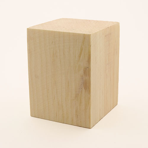 Softwood scrap block for ring-making - pine