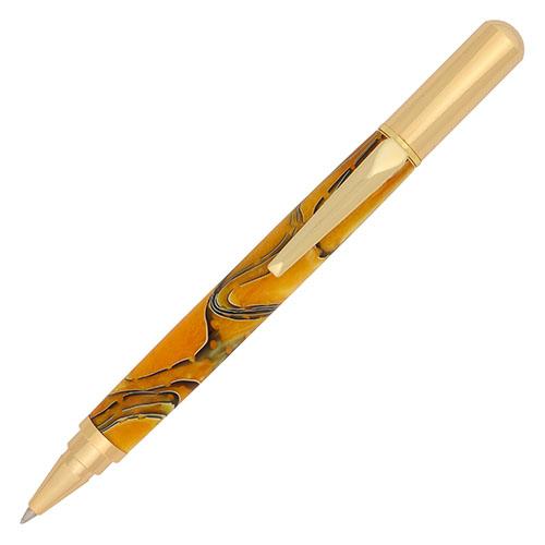 Rollester rollerball pen kit gold