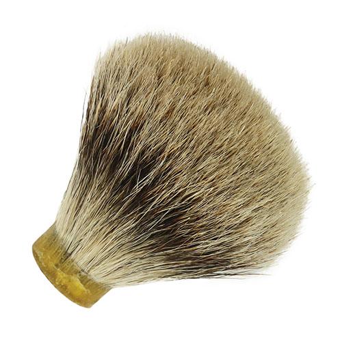 Badger hair shaving knot