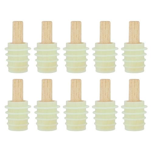 Silicon bottle stopper kit - 10 pack