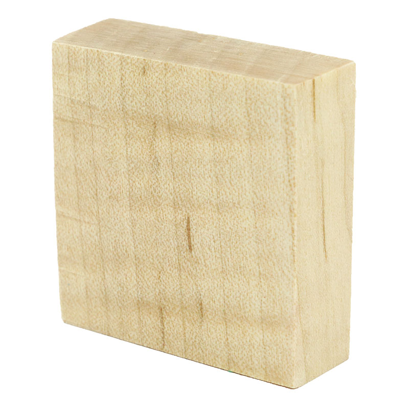 Stabilized curly maple ring blanks - natural