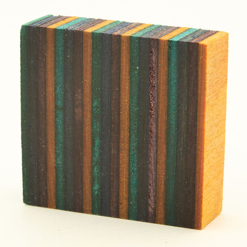 Stabilized SpectraPly ring blank - Gemwood